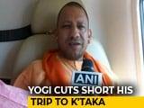 Video: After Criticism, Yogi Adityanath Cuts Karnataka Campaign Over UP Deaths