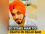 Video : Guest Stabbed To Death Allegedly By DJ At Delhi Bar After Fight Over Song