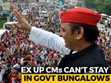 Video : Ex-UP Chief Ministers Can't Stay In Official Bungalows: Supreme Court