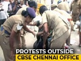 Video : NEET: Students' Union Activists Protest Outside CBSE Office In Chennai