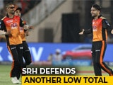 IPL 2018: SRH Defend Low Total To Beat RCB In Last-Over Thriller