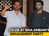 Video : Aamir, SRK, Ranbir & Others At Ambani's Bash