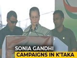 """Video: """"Speeches Don't Feed People, Heal The Sick"""": Sonia Gandhi's Attack On PM"""