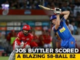 Video : IPL 2018: Buttler, Gowtham Guide Rajasthan Royals To 15-Run Win Over Kings XI Punjab
