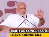 Video: Congress Stands For Six Evils Or 6Cs, Says PM In Karnataka