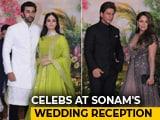 Video : SRK, Alia, Ranbir & Other Stars At Sonam's Wedding Reception