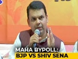 Video : Not Done, Says Devendra Fadnavis, In Clash With Sena Over Bypoll Ticket