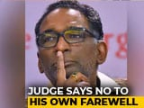 Video : Justice J Chelameswar Refuses Invite To His Farewell By Bar Association