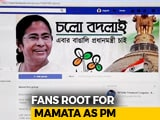 "Video : Campaign On Facebook Picks Mamata Banerjee For ""Bengali Prime Minister"""