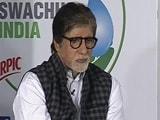 Video: To Curb Air Pollution, I Pledge To Plant 100 Trees: Amitabh Bachchan