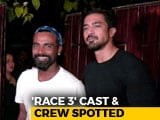 Video : <i>Race 3</i> Cast & Crew Spotted At Salman Khan's House