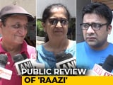Video : First Show Reactions Of Alia Bhatt's <i>Raazi</i>