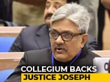 Video : 5 Judges To Reiterate Justice Joseph's Name For Elevation To Top Court
