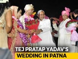 Video : Lalu Yadav's Son Tej Pratap Gets Married, Nitish Kumar Gives Blessings