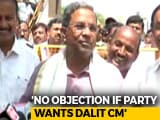 "Video: Dalit Chief Minister For Karnataka? Siddaramaiah Says ""Yes"", With Riders"