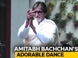 Video : Watch! Amitabh Bachchan's Adorable Dance For His Fans Outside Jalsa