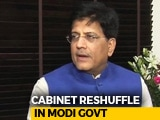 Video : In Cabinet Reshuffle, Piyush Goyal Gets Finance Till Arun Jaitley Is Back