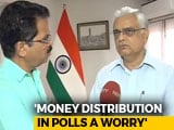 Video: Money Distribution In Polls A Worry, Says Chief Election Commissioner