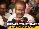 Video: We Should Be Given The First Opportunity To Form Government: HD Kumaraswamy