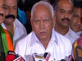 Video: Yeddyurappa Meets Governor, Congress-JDS Next In Line