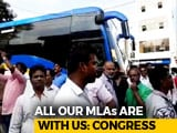 "Video: After ""Missing MLAs"" Scare, Busload Of Congress Men Taken To Governor"