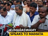 Video: Kumaraswamy Dials Mamata Banerjee, Brainstorms Strategy For Karnataka