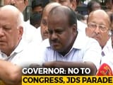 Video: Karnataka Governor Refuses Parade By Congress, JD(S) Lawmakers