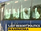Video: Congress-JDS To Fly Their Flock Out Of Karnataka, Worried About Poaching