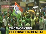 Video : Trinamool Congress Wins 2,467 Gram Panchayat Seats In West Bengal