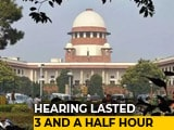 Video: Karnataka Game Of Thrones: An Unprecedented Overnight Hearing In Supreme Court
