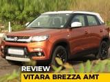 Maruti Suzuki Brezza AMT