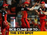 Video: IPL 2018: Royal Challengers Bangalore Stay Alive Following A Spirited Win