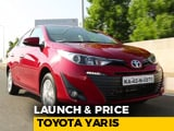 Video : New Toyota Yaris Launched | Prices & Specs | NDTV CarAndBike