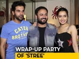 Video : Shraddha Kapoor & Rajkummar Rao At The Wrap-Up Party Of <i>Stree</i>