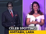 Video : Celeb Spotting: Amitabh Bachchan, Lara Dutta, Shraddha Kapoor & Others
