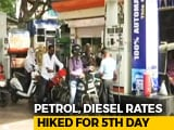 Video : Petrol Diesel Rates Hiked For 5th Day, Set To Go Up Further?