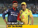 Video : Disciplined Delhi Daredevils Outclass Famed Chennai Super Kings