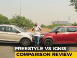 Video : Ford Freestyle VS Maruti Suzuki Ignis: Cross Hatchback Comparison Review | NDTV CarAndBike