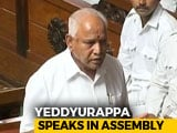 Video : BS Yeddyurappa Quits As Karnataka Chief Minister Just Before Trust Vote