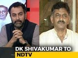 Video : DK Shivakumar On Congress Efforts To Foil Defections In Karnataka