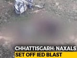 Video : 6 Security Personnel Killed In Landmine Blast By Maoists In Chhattisgarh