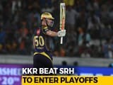 Video : IPL 2018: KKR Seal Playoffs Berth With Five-Wicket Win Over SRH