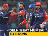 IPL 2018: Delhi Daredevils Win By 11 Runs, Mumbai Indians Eliminated