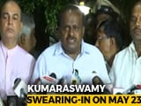 Video: Kumaraswamy May Have Two Deputies, Will Take Oath Alone, Says Congress
